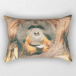 Orangutan. Rectangular Pillow