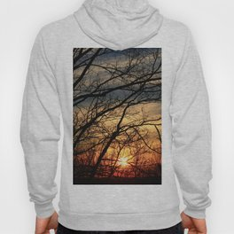 Early Spring Sunset Hoody