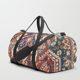 Qashqai Khorjin  Antique Fars Persian Bag Face Duffle Bag