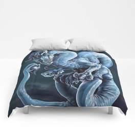 Blue Dragon Comforters