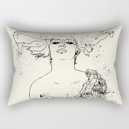 Fighter Rectangular Pillow