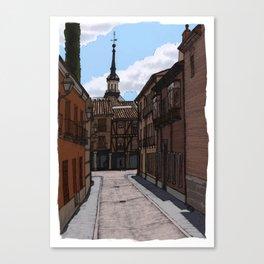 Alcalá streets Canvas Print