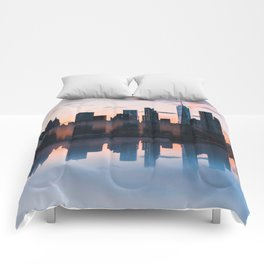 Downtown Reflections Comforters