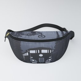 Over The Train Fanny Pack