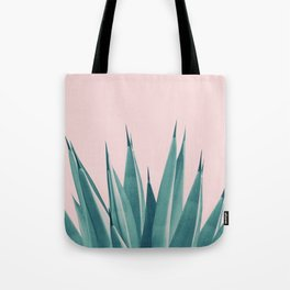 Blush Agave Dream #1 #tropical #decor #art #society6 Tote Bag