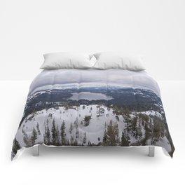 Snowy Horizon Comforters