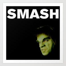 Johnny Smash Art Print