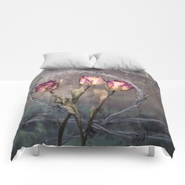 Trapped Roses Comforters