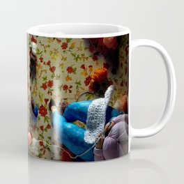 The knitter. Coffee Mug