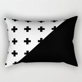 Memphis pattern 76 Rectangular Pillow