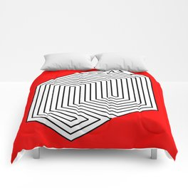 Three Dimentional Effect Comforters