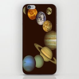 The Solar System iPhone Skin