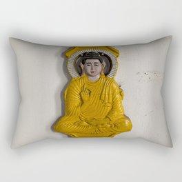Buddha in Nepal Rectangular Pillow