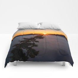 Sunset Tree Top Comforters