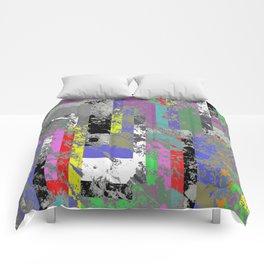 Textured Exclusion I Comforters