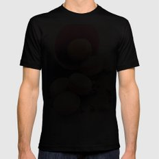 Sweet Cake with coffee beans Mens Fitted Tee Black MEDIUM