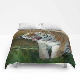 Angry Tiger Comforters