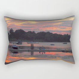 Sunset At The Cove Rectangular Pillow
