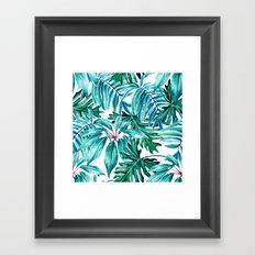 Tropical jungle II Framed Art Print