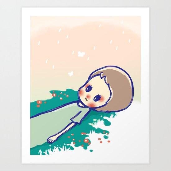 a little star Art Print