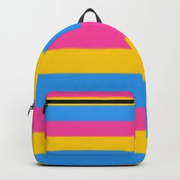 Pansexual Pride Flag v2 Backpack