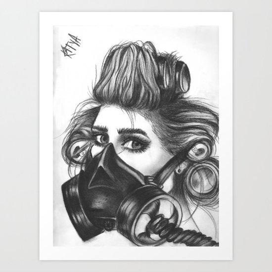 Pretty Mother F*cker. Art Print