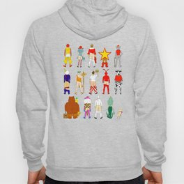 Fast Food Butts Pattern Hoody