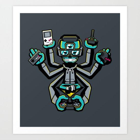 The Ultimate Gamer Art Print
