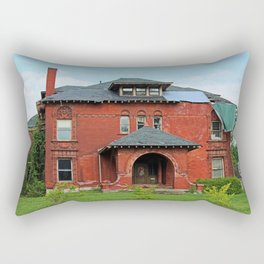 The Old West End-- The Lee-Knight House Rectangular Pillow