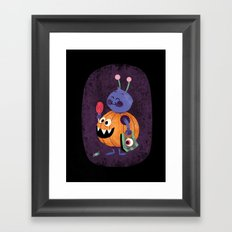 Hallow Candies Framed Art Print