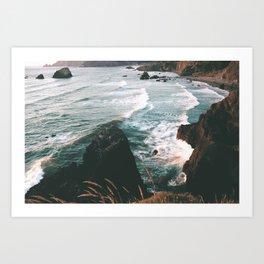 Oregon Coast IV Art Print