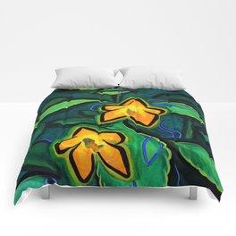 Orange Jewelweed 2.0 Comforters
