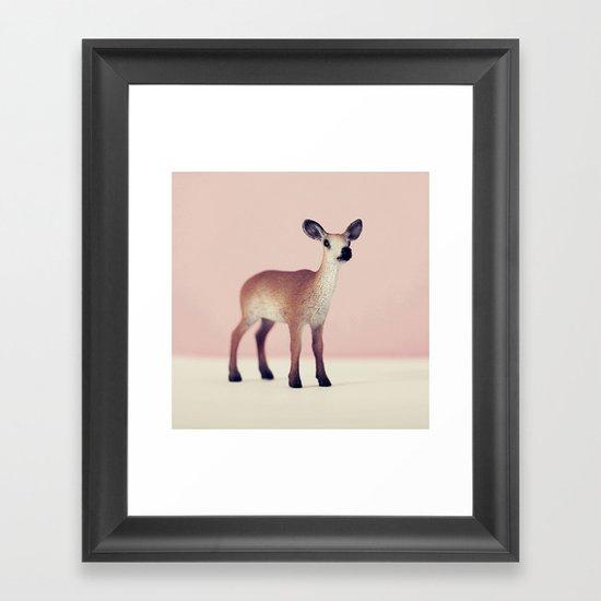 Oh Deer Framed Art Print