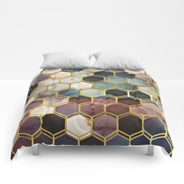 RUGGED MARBLE Comforters