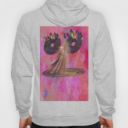Funny Fraktal is talking to you   (A7 B0144) Hoody