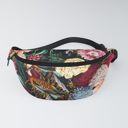 Floral and Animals pattern II Fanny Pack