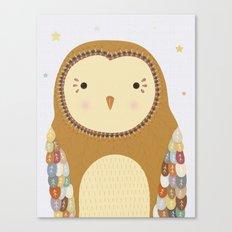 Autumn the Owl Canvas Print