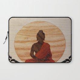 Buddha marquetry Laptop Sleeve