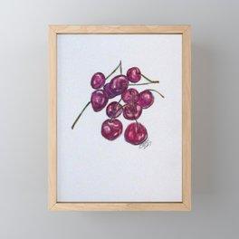 Sweet Cherry Framed Mini Art Print