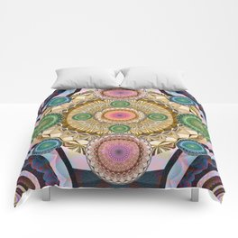 Psychedelic all up in yo' Grill Comforters