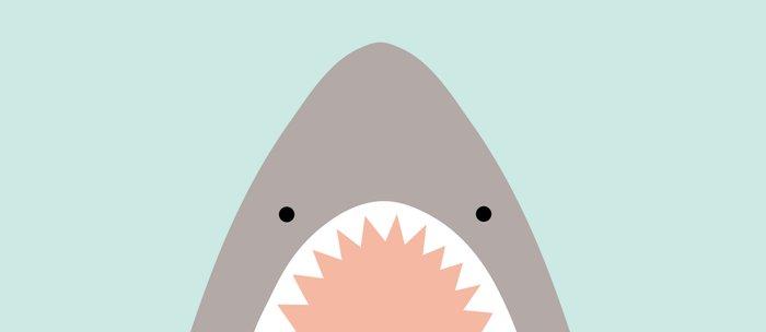 shark attack Coffee Mug