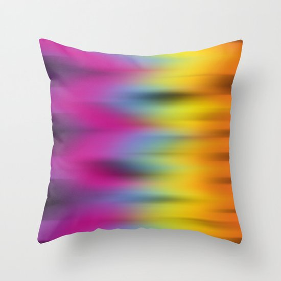 Now That's Abstract! Throw Pillow
