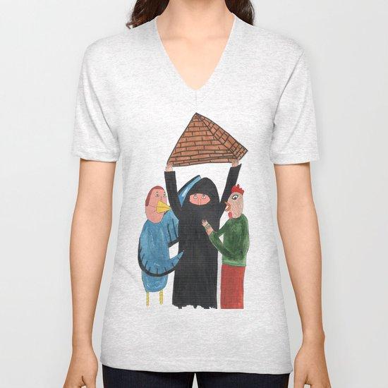 Pirâmide. Unisex V-Neck