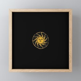Gold Framed Mini Art Print
