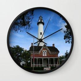 ST. SIMONS LIGHTHOUSE - Golden Isles Wall Clock