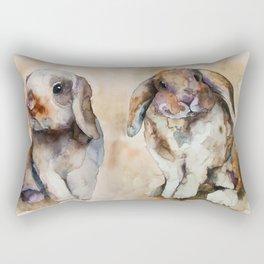 BUNNIES #1 Rectangular Pillow
