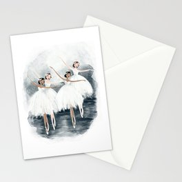 Dance of the Swans Stationery Cards