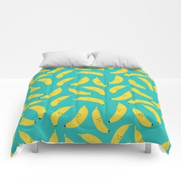 Happy Bananas Comforters