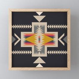 bonfire Framed Mini Art Print