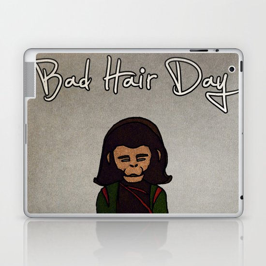 bad hair day no:1 / Planet of the Apes Laptop & iPad Skin